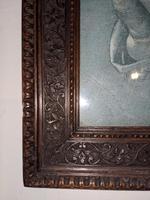 Carved Mahogany Frame (4 of 5)