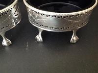 Pair of Hester Bateman Georgian Silver Table Salts - 1785 (3 of 8)