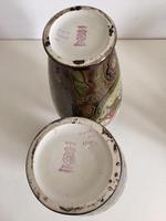Pair of Large Antique Royal Bonn Vases - Art Nouveau (6 of 9)