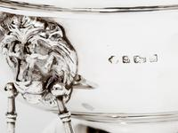 Impressive Edwardian William Hutton & Son Silver Monteith Style Bowl (3 of 4)