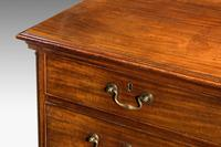 18th Century Mahogany Chest of Drawers with Quarter Column Corners (2 of 5)