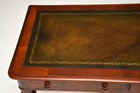 Antique  William IV Mahogany  Leather Top Writing Table / Desk (2 of 12)