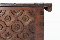 17th Century French Oak Chest (4 of 9)