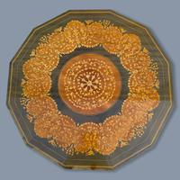 Italian Dodecagon Marquetry Musical Side Table (4 of 8)