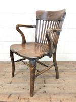 Early 20th Century Desk Chair (6 of 11)