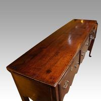 Antique Oak Cabriole Leg Dresser (8 of 9)