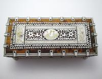 Quality Victorian Anglo Indian Antique Vizagapatam Trinket Jewellery Box Casket, 19th Century India (6 of 11)