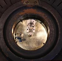 Sunburst Carved Giltwood Wall Clock (9 of 9)