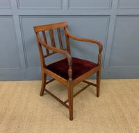 Set of 8 Georgian Mahogany Dining Chairs (5 of 16)