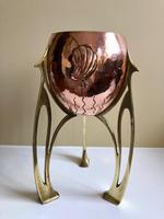 Jugendstil WMF Copper & Brass Jardiniere Planter, Art Nouveau (3 of 11)