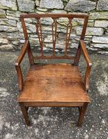 Antique Country Oak Armchair (4 of 14)
