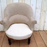French Armchair In Need Of Love