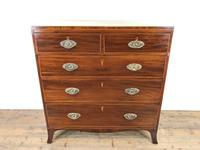 Antique 19th Century Mahogany Chest of Drawers (3 of 14)