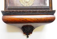 Rare Early Wall Clock Large Dial Rosewood 8 Day Striking Vienna Wall Clock (9 of 10)