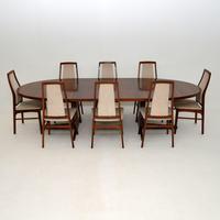 Danish Vintage Rosewood Dining Table by John Mortensen (10 of 10)