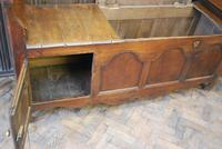 Antique French Coffer / Window Seat (4 of 7)
