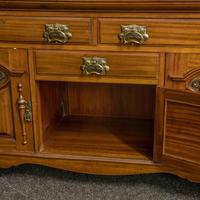 Late Victorian Mahogany Sideboard (15 of 19)