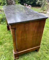 French Empire Commode in Figured Walnut (5 of 7)