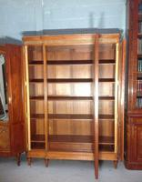 Breakfront Satinwood Armoire (8 of 11)