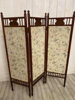 Edwardian Panelled Dressing Screen (2 of 5)