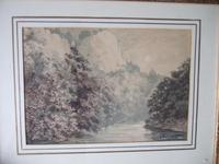 EAF Clark Watercolour of High Tor, Matlock, Derbyshire Dated 1882 (2 of 4)