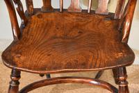 19th Century Yew Wood Windsor Armchair (6 of 6)