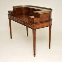 Antique Mahogany Carlton House Desk (11 of 14)
