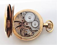 1930s James Walker London Pocket Watch Made by Record (6 of 6)