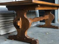 French Farmhouse Trestle Dining Table (2 of 15)
