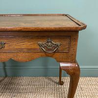 Victorian Oak Antique Silver Table (6 of 6)