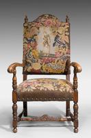 Good 19th Century Walnut Framed Chair (6 of 6)
