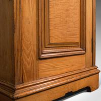 Antique Side Cabinet, English, Ash, Bedroom Night Stand, Pot Cupboard, Victorian (11 of 12)