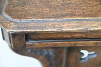 Victorian Gothic Revival Oak Hall Chair (12 of 12)