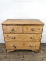 Victorian Pine Chest of Drawers (3 of 10)