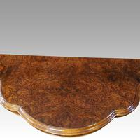 Victorian Walnut Card Table (7 of 10)
