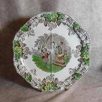 1930's Spode Byron Series No1 Sandwich Plate by Copeland (5 of 7)