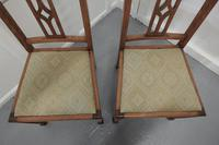 Pair of Arts & Crafts Golden Oak Chairs (3 of 6)