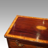 George III Inlaid Kneehole Desk (10 of 17)