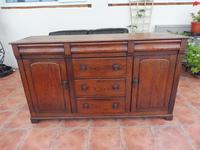 Rustic Pine Dresser Base 6 Drawer 1800 (10 of 10)