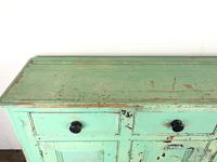 Victorian Antique Pine Painted Dresser Base Sideboard (6 of 14)