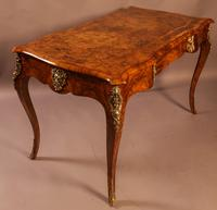 Superb French Centre Table in Burr Walnut (5 of 12)