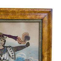 Pair of Victorian Theatrical Tinsel Prints (9 of 12)