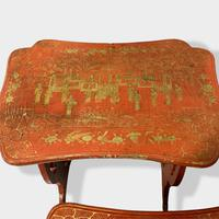 Crutsy Nest of 4 Chinese Red Lacquered Tables (9 of 13)
