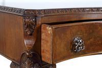 Burr Walnut Dressing or Side Table (3 of 7)