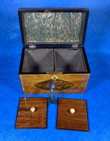 Late 18th Century Fruitwood and Applewood Twin Tea Caddy (5 of 21)