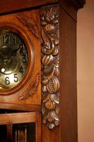 Impressive Black Forest Oak Grunderzeit Longcase Clock c.1910 (10 of 13)