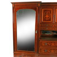 Marquetry Inlaid Wardrobe by Heal & Son (2 of 8)