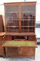 Large Mahogany Regency Secretaire Bookcase c.1820 (2 of 7)