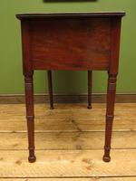 Slightly Wonky Antique Writing Table with Drawers (16 of 19)
