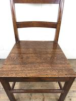 Pair of Antique Welsh Oak Farmhouse Chairs (16 of 17)